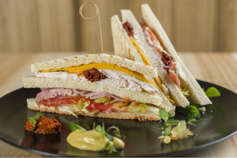 Spicy Club Sandwich con Nduja di Spilinga